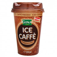 Gina, Pahar Ice Coffe Cappuccino, 230ml