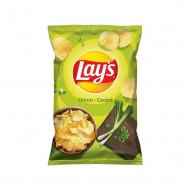 LAY'S,Chipsuri Lay's cu gust de ceapa, 140 g