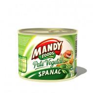 Mandy, Pate Vegetal Spanac, 200g