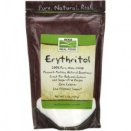 NOW Erythritol Indulcitor Natural - 454g