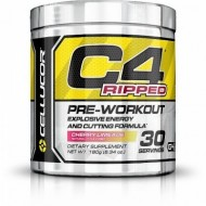 Cellucor C4 Pre-workout Ripped, 180 g, 30 serviri