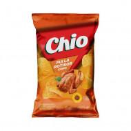 CHIO,Chipsuri Chio cu pui la rotisor, 140g