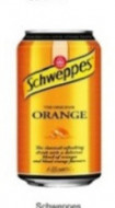 Coca-Cola, Schweppes Orange, doza 0,33l