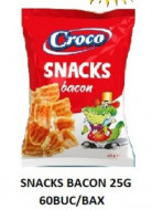 Croco, Snacks Bacon, 25g