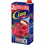 CIAO,Suc de mere si zmeura Ciao, 2L