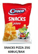 Croco, Snacks Pizza, 25g