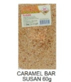 Finess, Caramel Bar Susan, 60g