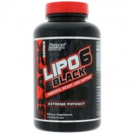 Nutrex Lipo 6 Black, 120 capsule, Maximum Potency