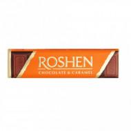Roshen, Ciocolata Lapte Cu Umplutura De Caramel, 43g