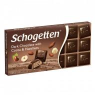 Schogetten, Ciocolata Dark alune, 100g
