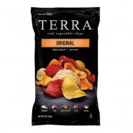TERRA,Chips cu legume si sare de mare, 110g