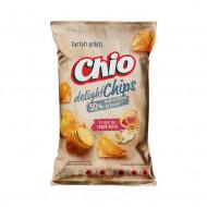 CHIO,Chipsuri Chips Delight cu gust de ceapa dulce, 125g