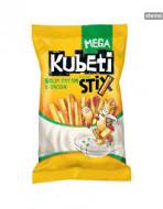 Kubeti, Mega Stix Sour Cream, 50g