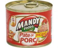 Mandy, Pate Picant Porc, 200g