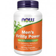Now Men's Virility Power, 120 Veg Capsules
