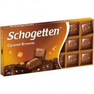Schogetten Ciocolata , Caramel Brownie, 100g