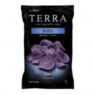 TERRA Chips din cartofi mov cu Sare, 110 g
