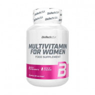 Biotech USA Multivitamin for Women, 60 tablete
