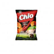 CHIO,Chipsuri din cartofi cu ardei iute Chio Clasic, 125g