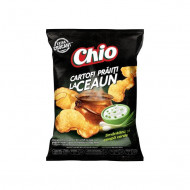 CHIO,Kettle Chips cu smantana si ceapa verde, 80g