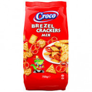 Croco, Mix Crackers Si Brezel, 750g