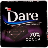 Eti, Dare Dark Cacao 70%, 70g
