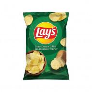 LAY'S,Chipsuri Lay's cu gust de smantana si marar, 60g