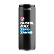 PEPSI,Bautura racoritoare Pepsi Max, 0.33L
