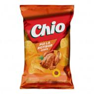CHIO,chips cu aroma de pui la rotisor, 60g