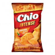 CHIO,Chipsuri Chio cu intense cascaval si chili, 130g