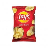LAY'S,Chipsuri Lay's cu sare, 60 g