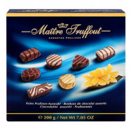 PROMO 3+1,Maitre Truffout, Praline Mixte Blue, 200g