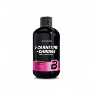 Biotech USA, L-Carnitine + Chrome, 500 ml