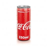 COCA-COLA,Bautura racoritoare Coca-Cola doza aluminiu, 0.33L
