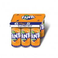 FANTA Portocale DOZA, 6 x 0.33L