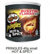 Pringles, Small Hot& Spicy, 40g