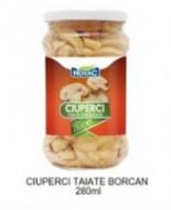 Novac, Ciuperci Taiate Borcan, 280ml