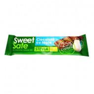 Sly, Sweet & Safe - Ciocolata Lapte Si Stevia, 25g