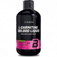 Biotech USA, L-Carnitine 100.000 mg Liquid, 500 ml