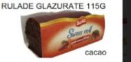 Doma, Rulada Glazurata Cacao, 115g