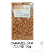Finess, Caramel Bar Alune, 60g