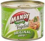 Mandy, Pate Vegetal, 200g