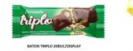 Serenata, Triplo Napolitana Ciocolata Lapte Si Alune, 50g