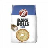 7 DAYS,Bake Rolls cu sare, 80 g