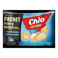 CHIO,Chipsuri Chio cu intense sare de mare, 190g