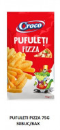 Croco, Pufuleti Pizza, 75g