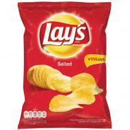 LAY'S,Chipsuri Lay's din cartofi cu sare 140g