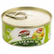 Mandy, Pate Vegetal Spanac, 120g
