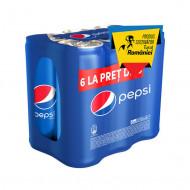 PEPSI,Pachet promo Pepsi (5+1) x 0.33L doza