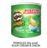 Pringles, Small Sour Cream & Onion, 40g
